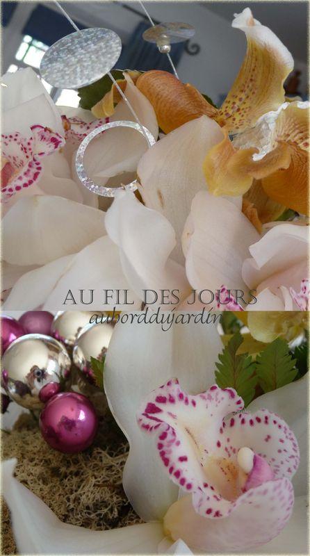 Décors floral Noël 2009