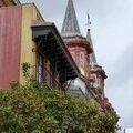 le clocher et les orangers