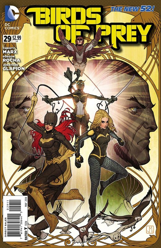 new 52 birds of prey 29