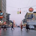 Vancouver Crosswalk, 1959, photograph by Fred Herzog