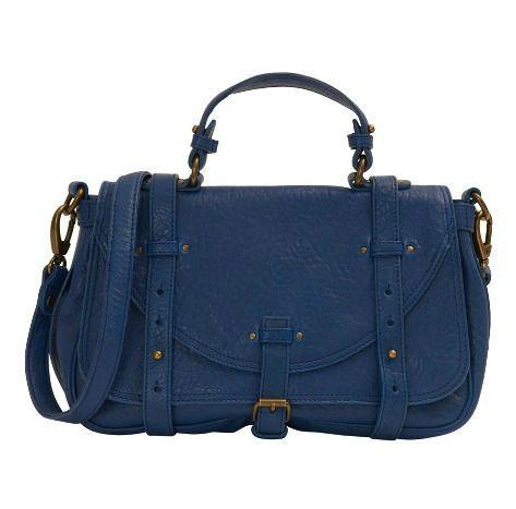 sac bleu comptoir des cotonniers