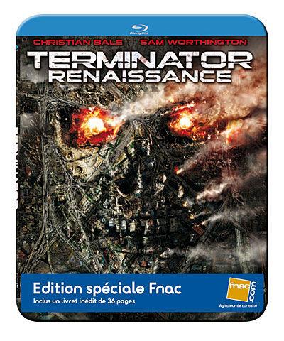 TERMINATOR RENAISSANCE steelbook
