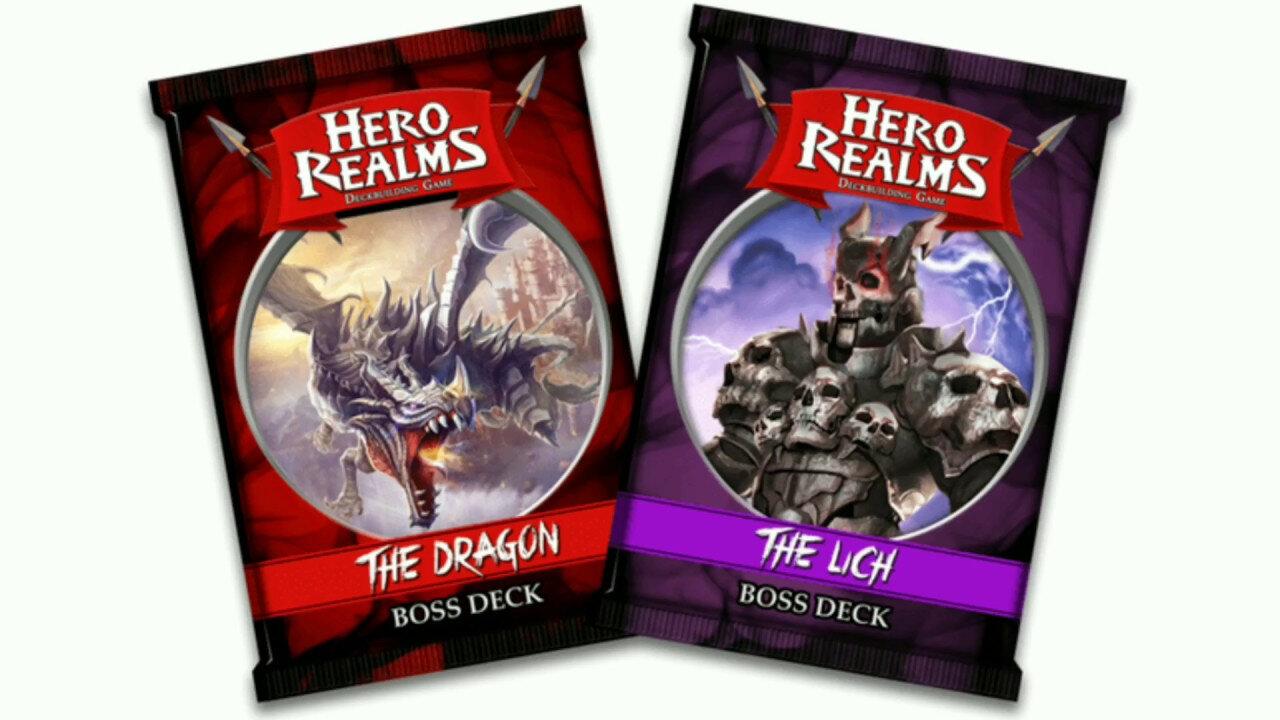 Boutique jeux de société - Pontivy - morbihan - ludis factory - Hero realms deck de boss