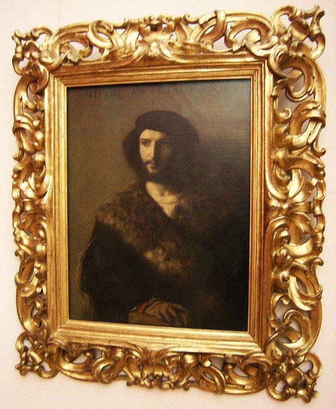 Tiziano Vecellio portrait of a man known as the sick man 1514