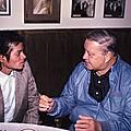 Moment captured : rencontre entre michael jackson et jackie gleason à miami, en novembre 1984
