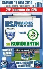 US Avranches Romorantin football 2014 CFA
