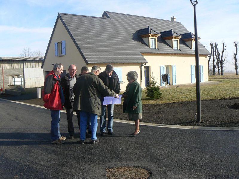 2011 janvier réception travaux lotissement 1ère tranche presse-