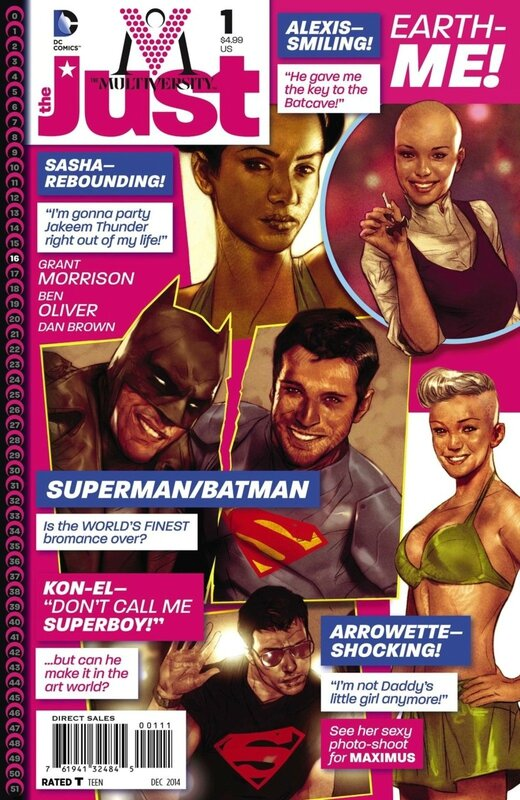 multiversity the just