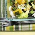 Salade de cabillaud au fenouil et à l'orange
