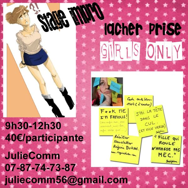 ateliers girls only flyer