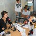 Tiphaine, Floriane, François et Fred très concentrés