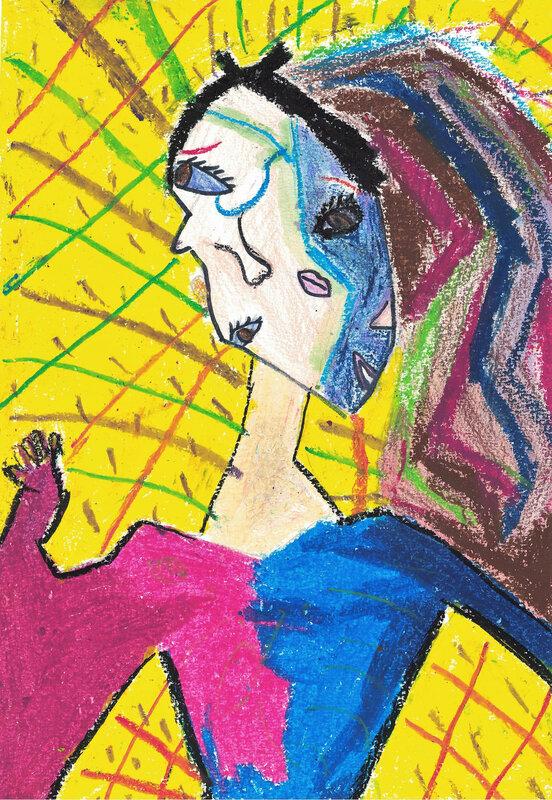 autoportrait cubiste 4