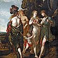 Claude vignon (tours 1593 - paris 1670), « le jugement de pâris ».