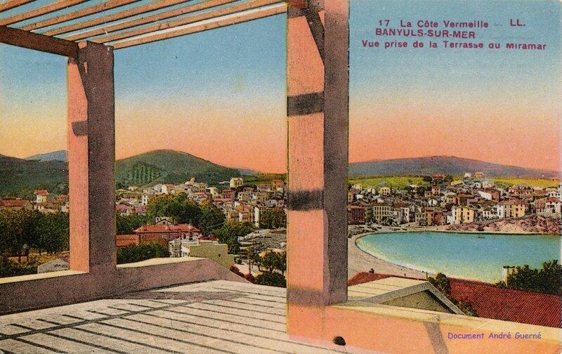 515 Vue prise de la Terrasse du Miramar 1945