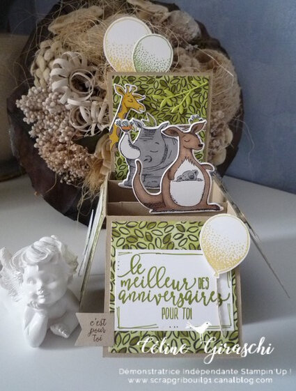 Carte Pop Up Animaux -1